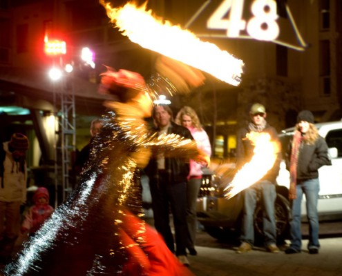 48 Straight Fire Dancer