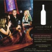 Uncorked Squaw Valley Advertisement